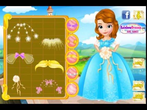 Мультик игра София Прекрасная: Платье для свадьбы (Design Princess Sofias Wedding Dress)
