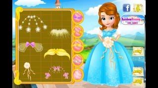 Мультик игра София Прекрасная: Платье для свадьбы (Design Princess Sofia's Wedding Dress)