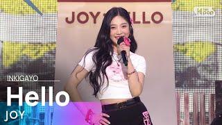 [SUB] JOY(조이) - Hello(안녕) @인기가요 inkigayo 20210606
