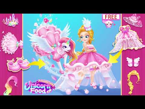 Princess Libby Unicorn Food For Pc - Download For Windows 7,10 and Mac