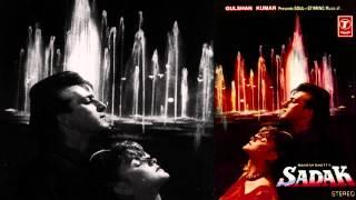 Zamane Ke Dekhain Hain Rang Hazaar Full Audio Song (Female) | Sadak | Sanjay Dutt, Pooja Bhatt
