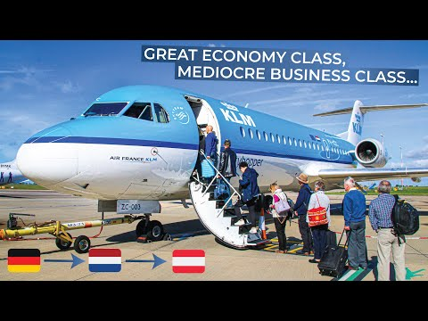 TRIPREPORT | KLM (Economy AND Business) | Bremen - Amsterdam