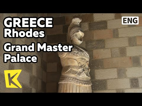 【K】Greece Travel-Rhodes[그리스 여행-로도스] 그랜드마스터 궁전/Grand Master's Palace/Knights/Fortress/Aphrodite