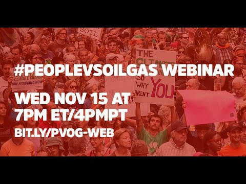 People vs Oil & Gas Webinar: Logistics and Crowdfunding 101