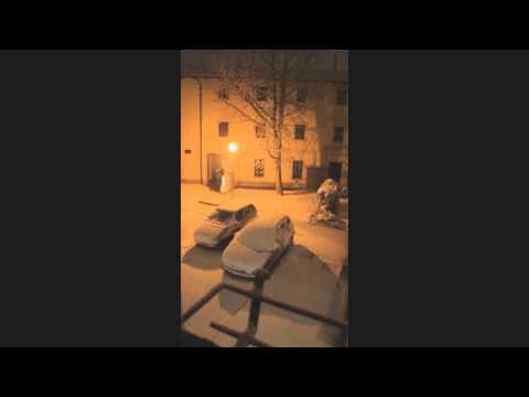 TimeLapse Nevicata 7-8/12/2012 - Full HD