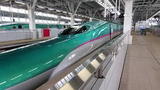 はやぶさ7号E5系 新青森発車