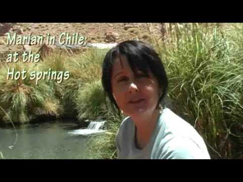 Marian Keyes' Chile 5 - At the hot springs