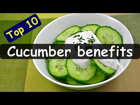 Top 10 Health Benefits of Eating Cucumber | Cucumber Nutrition | Health Tips