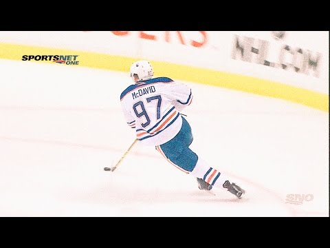 McDavid Shift by Shift (Oilers/Canucks) October 3, 2015