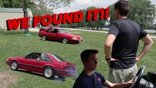 WE FOUND AND DROVE MY DADS FIRST CAR!