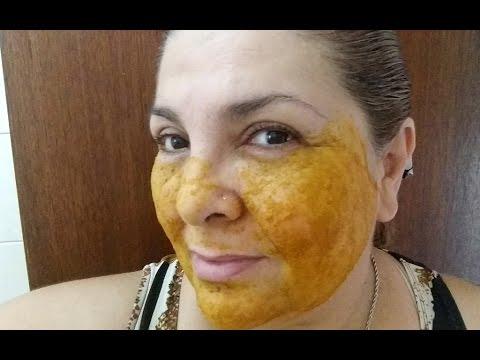 Mascara De Acafrao Para Acabar Com Manchas De Sol E Idade E Acabar