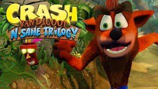 CRASH N.SANE TRILOGY PS4 - GAMEPLAY DE INÍCIO