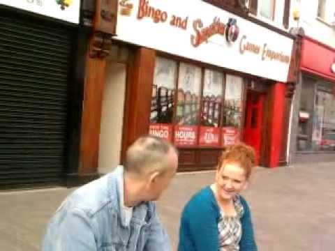 Random drunk in Omagh