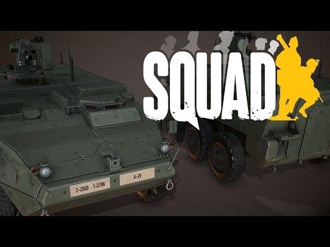 Squad Gameplay -German- Stryker Crew (Uncut...fast)