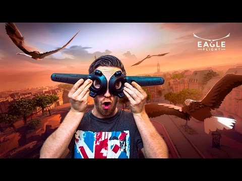 FLY LIKE A BIRD IN VR! | Eagle Flight - HTC Vive Gameplay