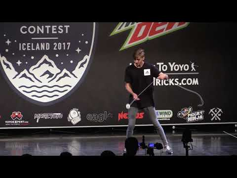Daniel Konecny - Spin Top Division - 2nd Place - World Yoyo Contest 2017