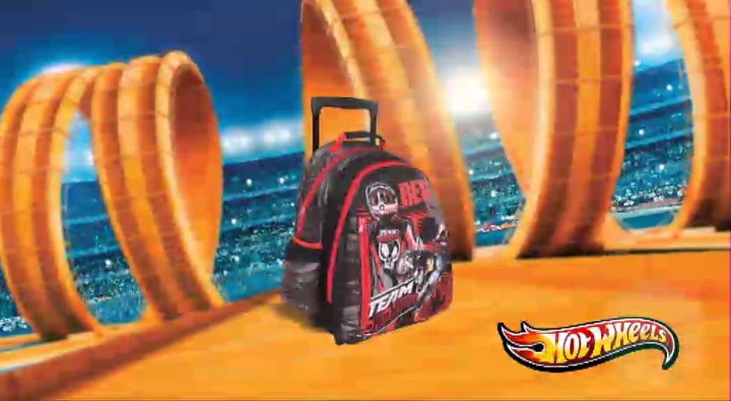 2f45a8682a Paxos Σχολικές Τσάντες-HOTWHEELS- Διαφήμιση 2013 - YouTube