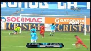 Sporting Cristal 1 - 2 Sport Huancayo (Fecha 12 - Copa Movistar Torneo Apertura)
