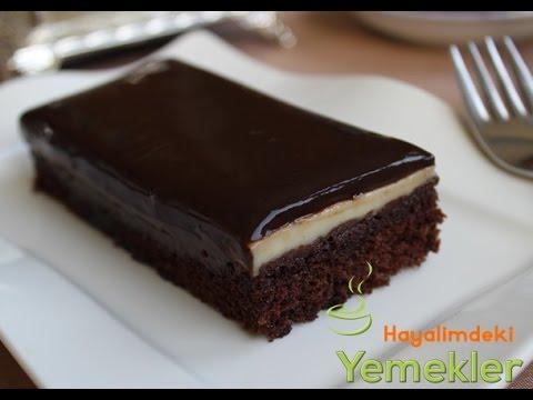 Çikolata Kremalı Muzlu Pasta