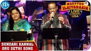Maestro Ilaiyaraaja Live Concert - Sundari Kannal Oru Sethi Song - SP Balasubrahmanyam and Chitra