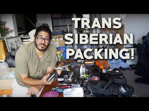 TRANS SIBERIAN RAILWAY PACKING GUIDE! - What to Pack for the Trans Siberian Railway Journey!