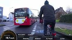 16.12 2017 mit dem Fahrrad von Aachen nach Maastricht (Teil1)