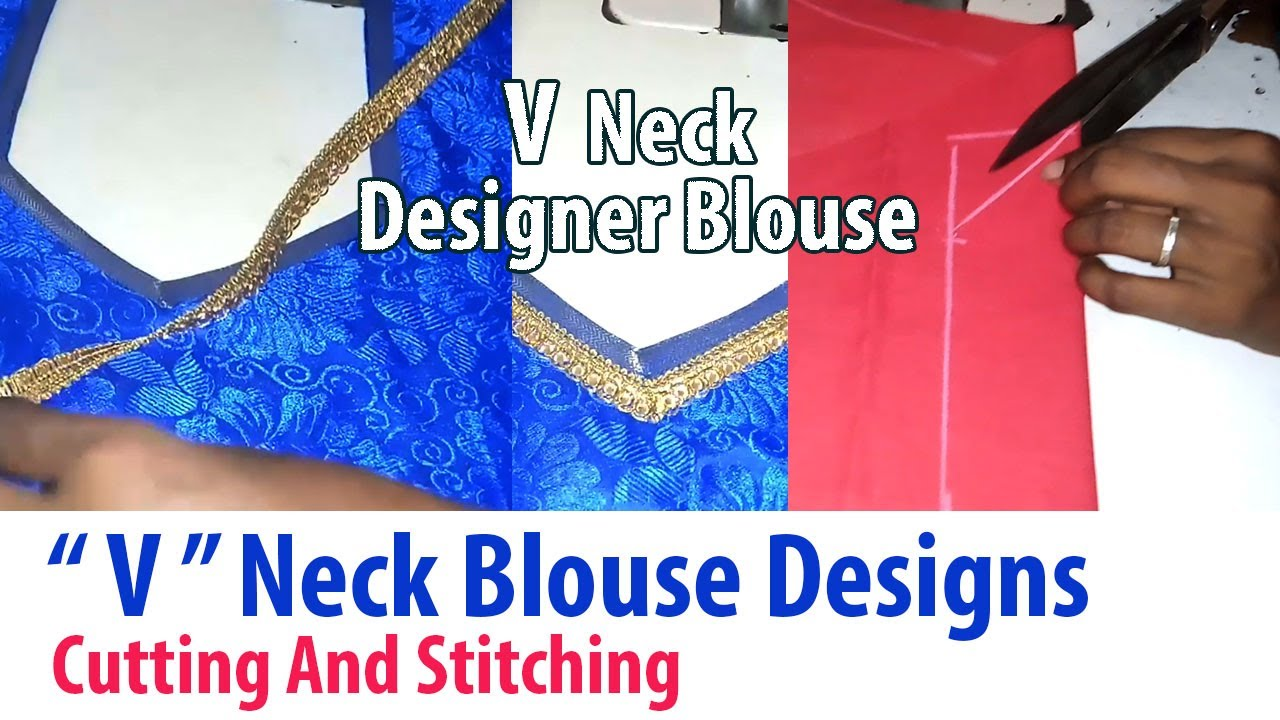 Stitching 2017 and in cutting model tamil neck blouse size