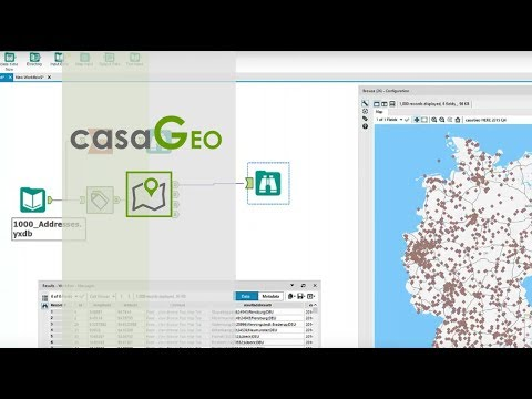 Tutorial: Geocoding an Address List with Alteryx and HERE Maps