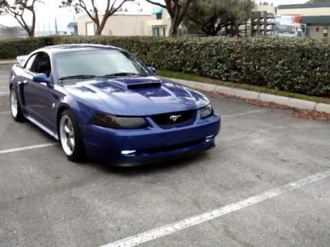 04 Mustang Gt >> Walkaround 04 Sonic Blue Mustang Gt W Irs Part 5