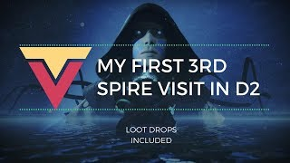 My First Lighthouse Trip in D2 (The Third Spire Flawless, Sweet Loot)