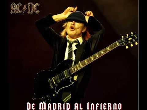 AC/DC Live [De Madrid Al Infierno] Full Album Silver Disc