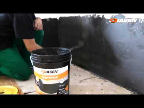 Watstop by Diasen -- Liquid waterproofing for rising damp, infiltration and counter thrust