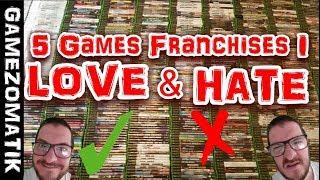 5 Games Franchises I Love & Hate.