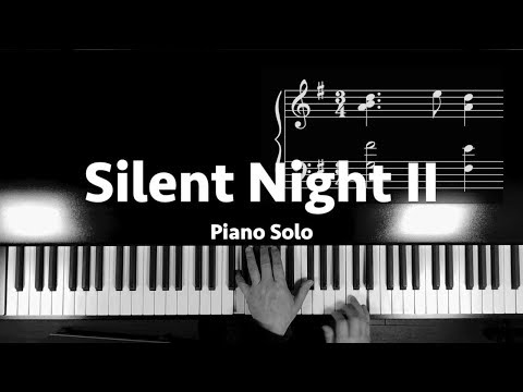 """Silent Night"" Simple Beautiful Piano"