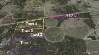 Luxury Home And 245 Acre +/- Land Auction Chandler, Ok No Reserve Tract Map