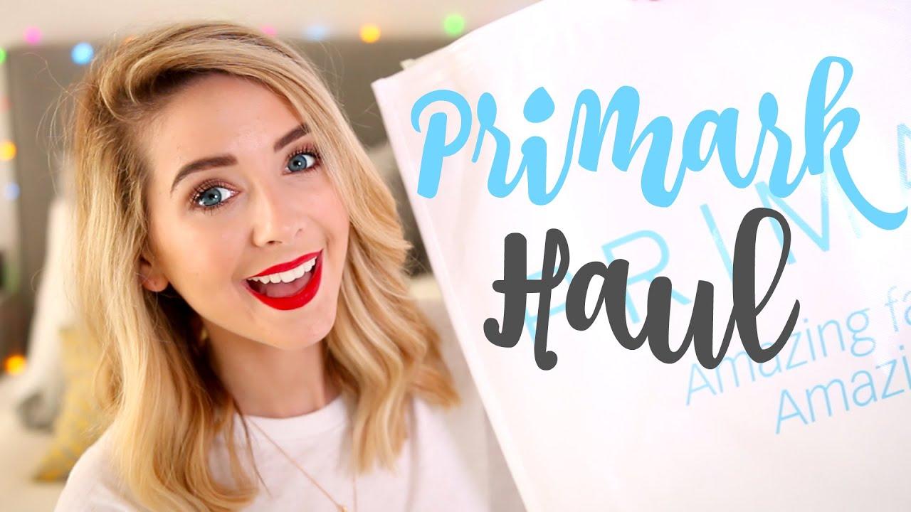Huge Disastrous Primark Haul | Zoella - YouTube