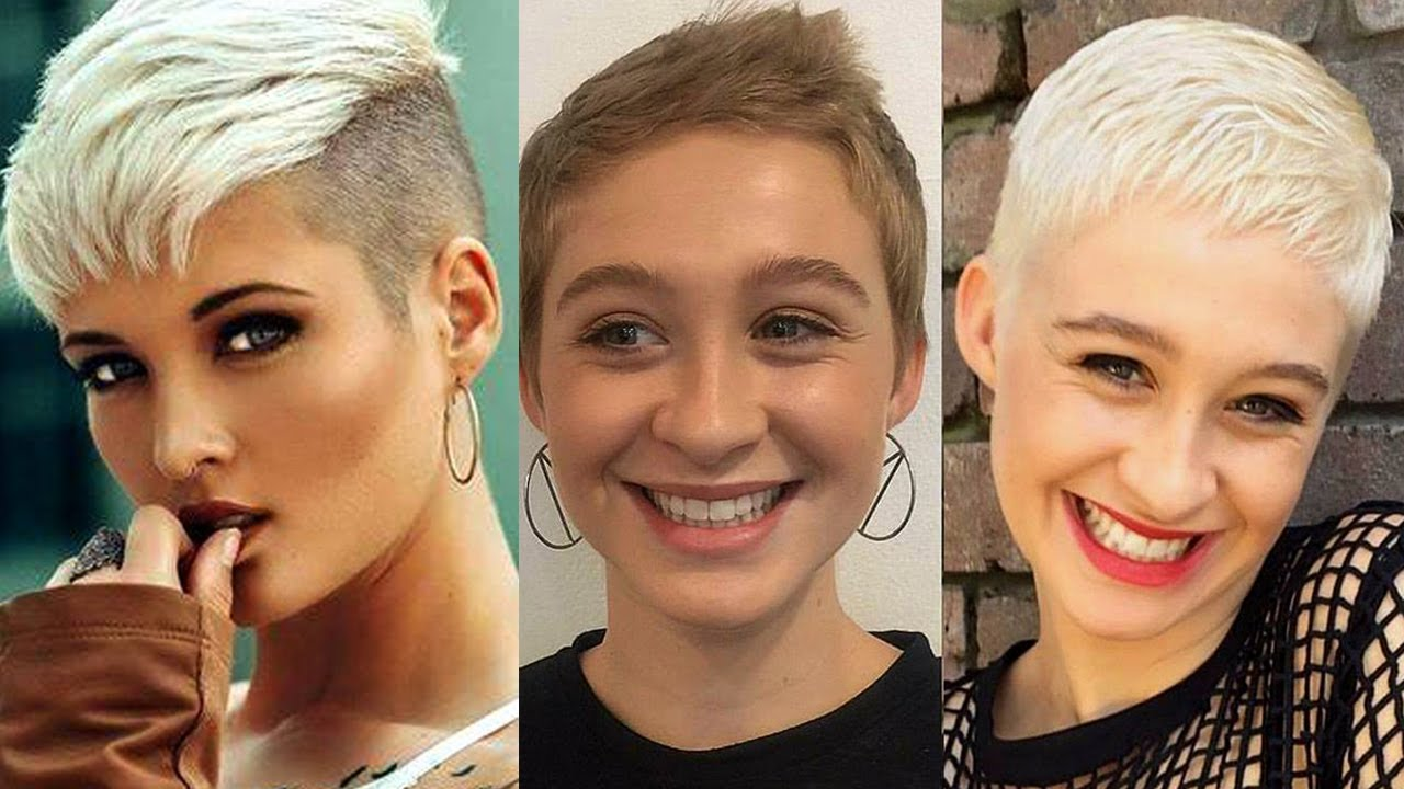 Extra Short Haircuts and Hairstyles | 2018 Short Haircuts - YouTube
