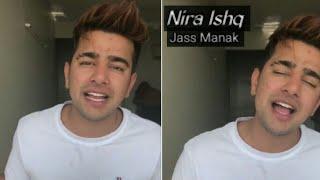 Nira Ishq :- Jass Manak ft. Guri | Cover Song | Original voice | Without Autotune | Singing Live |