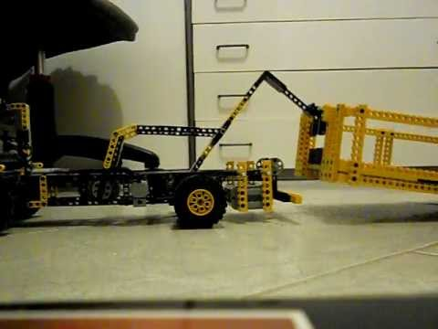 my first lego technic hook truck youtube. Black Bedroom Furniture Sets. Home Design Ideas