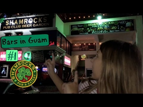 Бары на Гуаме #1 | Shamrocks 🍀