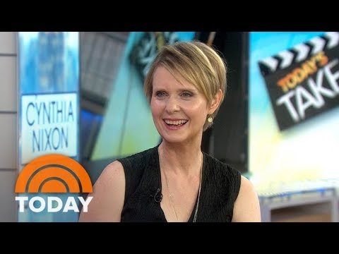 Cynthia Nixon On 'Only Living Boy In New York' And Running For Governor Of New York  TODAY
