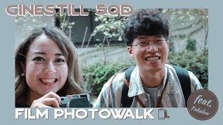 まるで映画のよう?! CineStill 50Dとフィルム散歩📷 feat. fukulow
