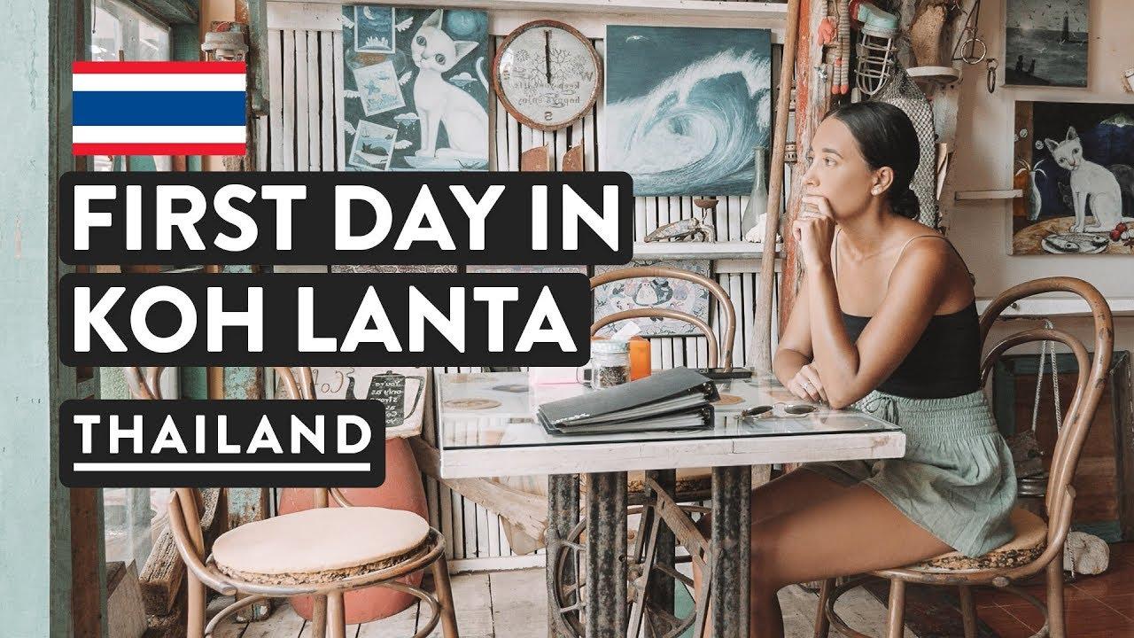 CHILL DAY EXPLORING KOH LANTA | Thailand Travel Vlog | Thai Islands