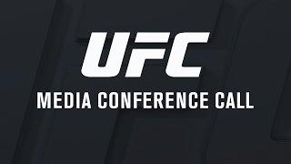 UFC 211: Miocic vs Dos Santos 2 - Media Conference Call