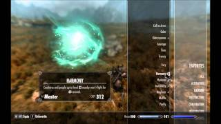 Skyrim: All Master Spells