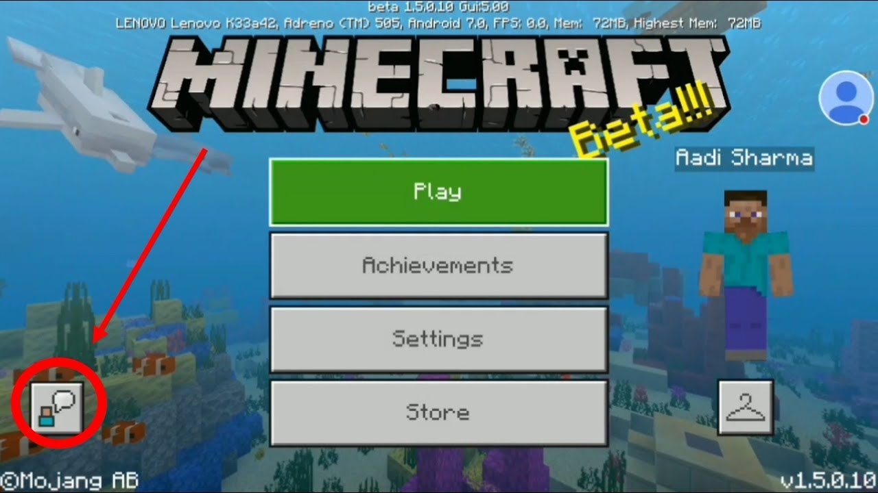 #mcpe #minecraft_pocket_edition, How to login to XBOX Live in Minecraft  Pocket Edition [●HINDI●]