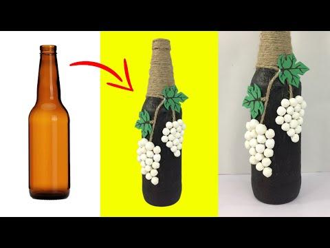 DIY Bottle Craft | Waste Bottle Craft Ideas | DIY Home Decor Bottle Craft | Art And Craft Ideas