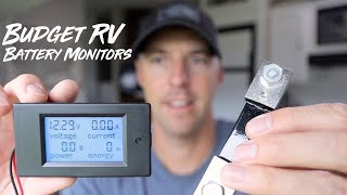How to Monitor RV Batteries On A Budget.