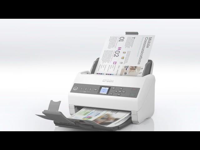 Escaner de red Epson A4