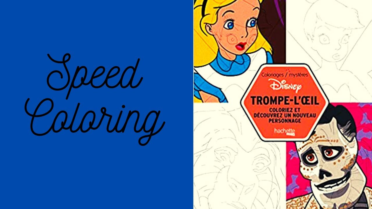 Speed Coloring N°20  Mickey, Donald & Co - YouTube